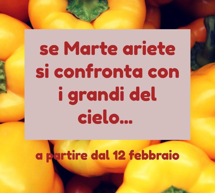 MARTE ARIETE E I GRANDI DEL CIELO