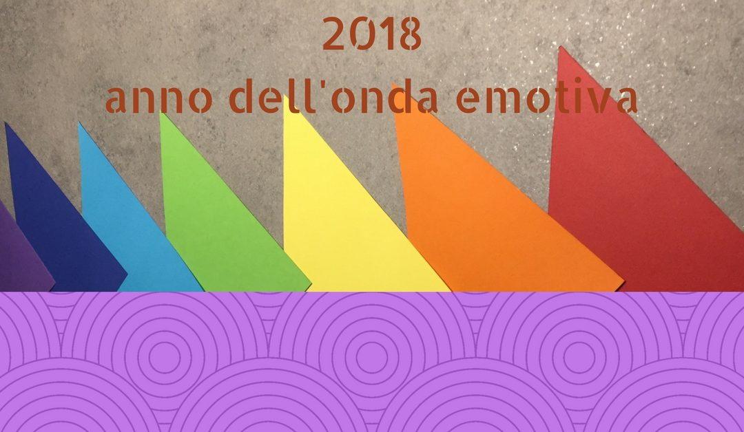 2018 – anno dell'onda emotiva, risveglia secondo e sesto chakra