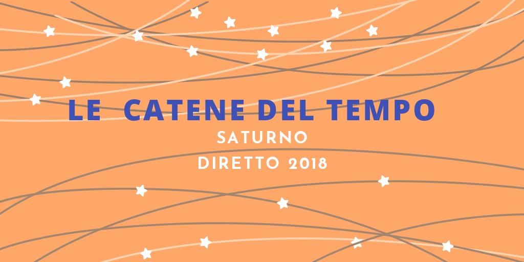 LE CATENE DEL TEMPO – Saturno diretto verso Plutone
